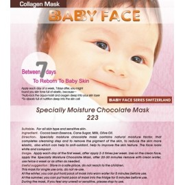 BABY FACE Specially Moisture Chocolate Mask 朱古力特效滋潤面膜