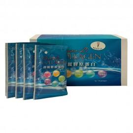 cf004 創麗膠原蛋白(粉) 成分:膠原蛋白、 L-抗壞血酸、深海彈力膠原蛋白、石榴萃取粉(美國專利) $950